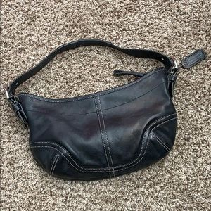 Coach Soho Hobo 9451 Black Leather Bag